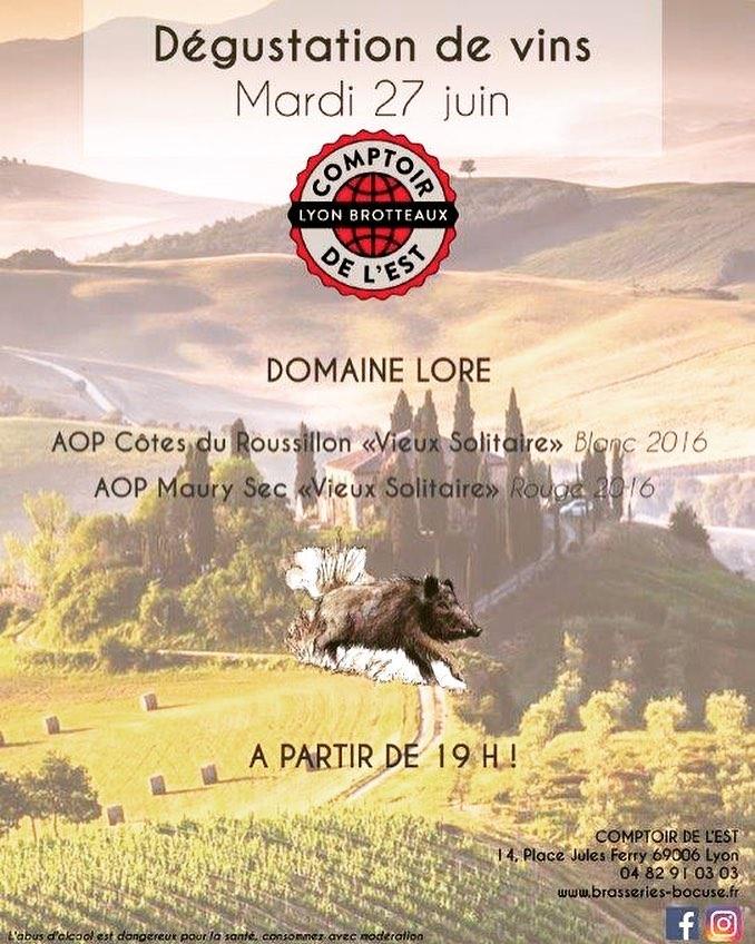 LE COMPTOIR DE L'EST, 69006 LYON