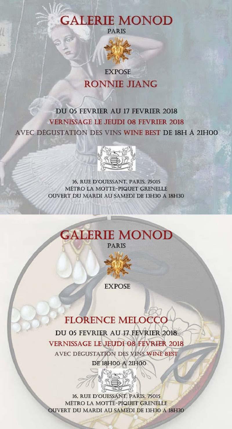 Winebest partenaire exclusif de la galerie Monod